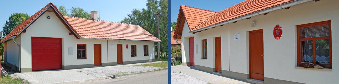 Hasičská zbrojnice SDH Loučná Hora - obec Smidary