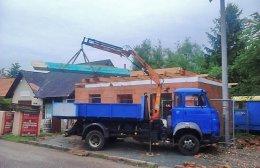 Novostavba hasičská zbrojnice Loučná Hora
