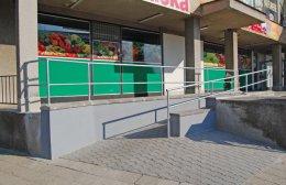 Rozšíření prodejny potravin Hruška - Smidary