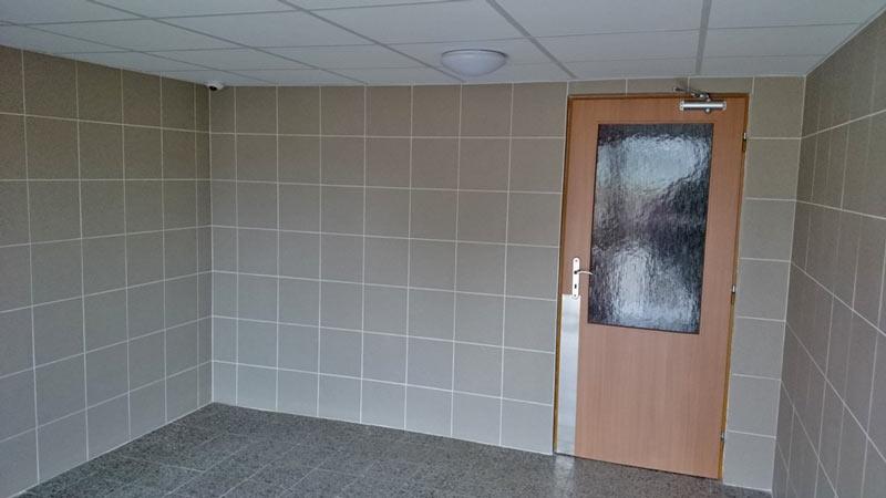 Vstupní chodby panelového domu Hradec Králové