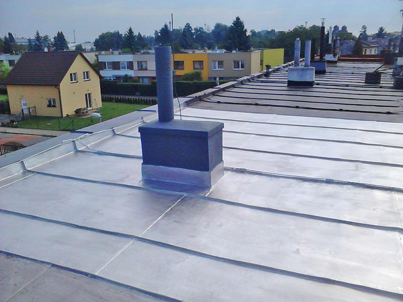 Oprava střechy - Svobodné Dvory - Hradec Králové