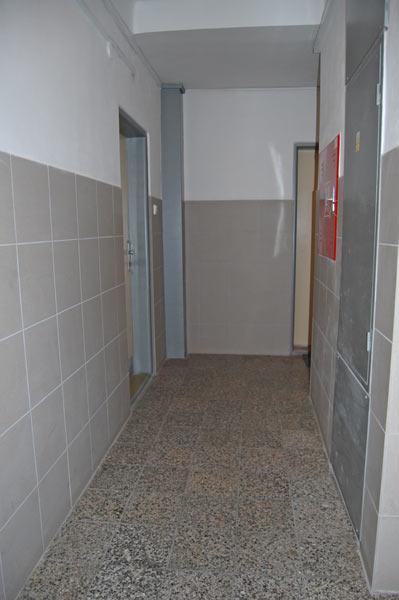 Rekonstrukce 13. pater společných prostor, panelový dům