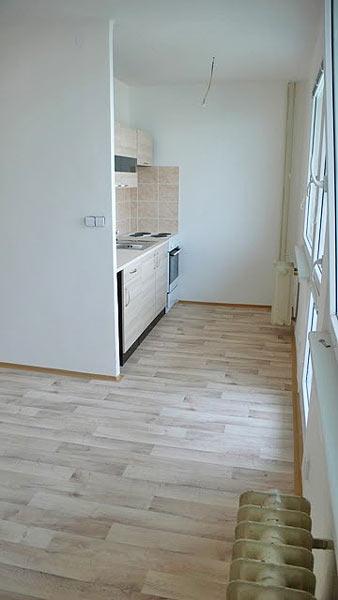 Rekonstrukce bytových jader Hradec Králové