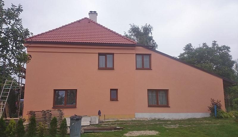Rekonstrukce rodinného domu Hradec Králové - Slatina